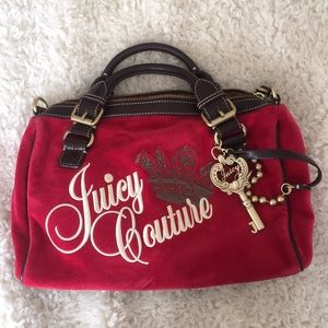 Red Juicy Couture Handbag